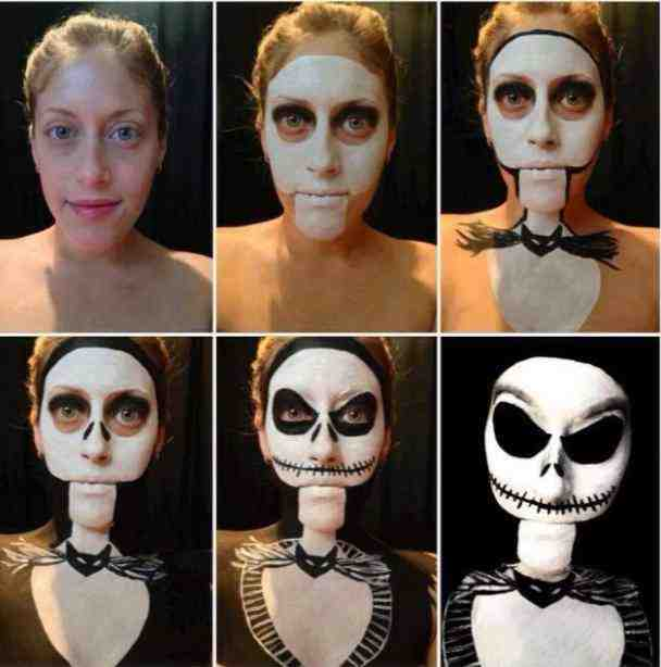 Scary Halloween Makeup For Men With Beards - Imageix