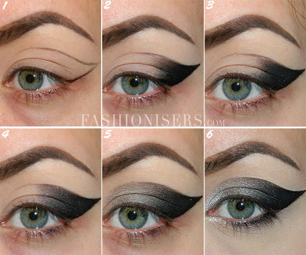 Step By Step Cat Eye Makeup Tutorial Fashionisers Imageix