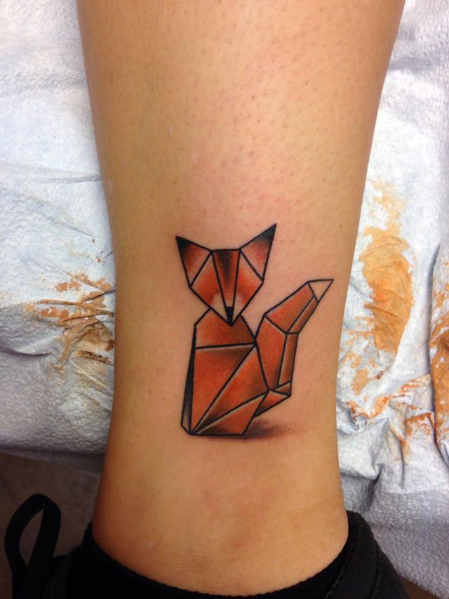 Geometric Fox Tattoo Imageix