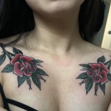 5879d884d Rose tattoo by Cody Dean @ Central Tattoo Studio in Philadelphia, PA  #evamigtattoos #tattoo