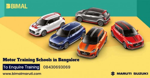As a leading Motor Training School and Driving Schools in Bangalore, Bimal Maruti Suzuki Showrooms in Bangalore offering the best driving practices for both men and women in the form of easy and quick learning methods. We train people as per their psychology because Bimal Maruti Driving School in Bangalore believes that driving is a mentally driven skill. https://www.bimalmaruti.com/